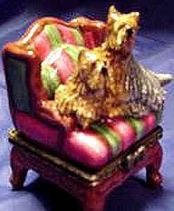 Auf altem Stuhl
