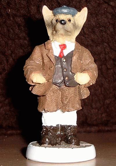 Schäferhund im englischem Outfit :-) St. Peter - Bruce