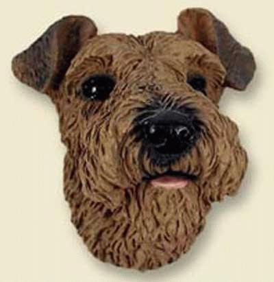Airdale  / Welsh Terrier Kopf (Magnet)