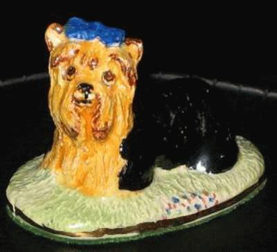 Liegender Yorkshire Terrier