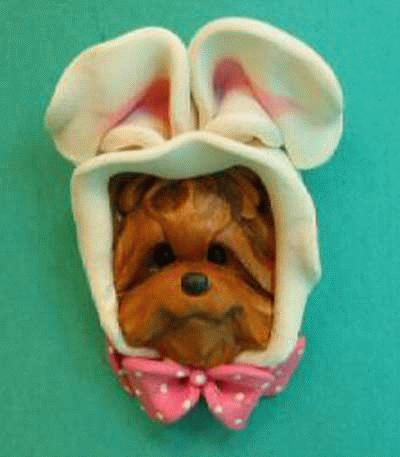 Pin - Yorkshire Terrier als Hase