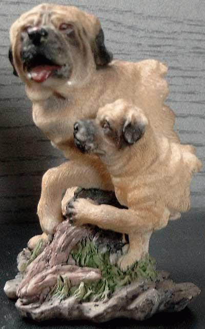 Mastiff Bust