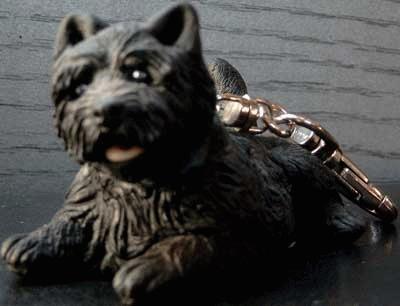 Schlüsselanhänger schwarzer Cairn Terrier