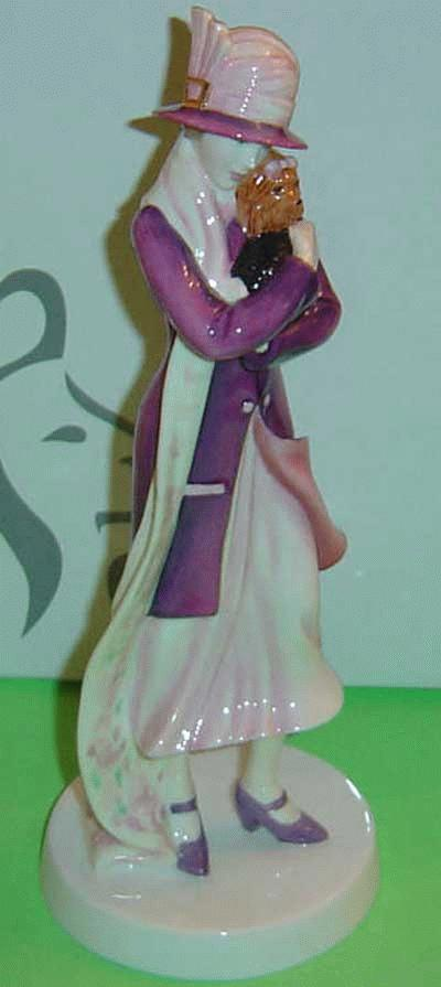 "PRETTY LADIES FIGURINE mit YORKSHIRE TERRIER ""PHILLIPA"""