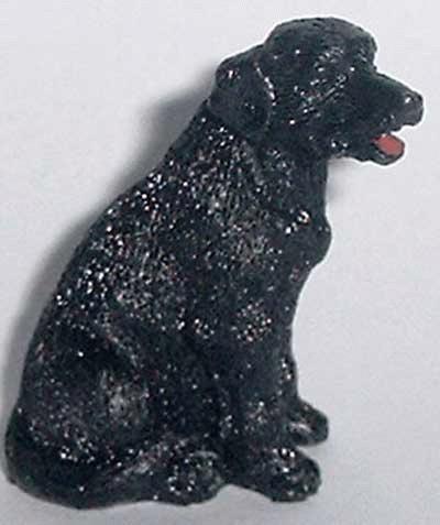 Sitzender Labrador