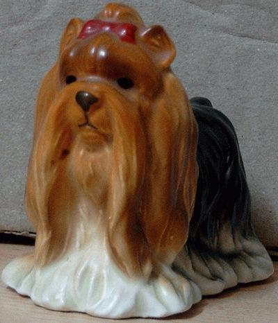 Standing Yorkshire Terrier miniature