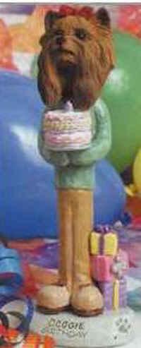 Geburtstags-Yorkie