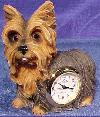 Yorkshire Terrier Kaminuhr