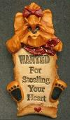 "Yorkshire Terrier ""WANTED"" Pin"