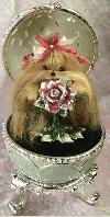 "Yorkshire Terrier ""Easter Rose"""