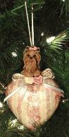 Yorkshire Terrier Weihnachtsbaum-Anhänger