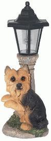 Yorkshire Terrier Solar Lampe